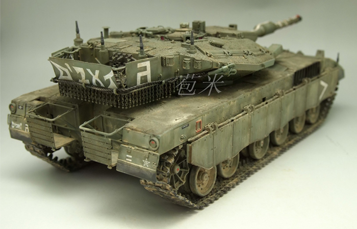 Meng-Model TS-001 1/35 Scale Plastic Model Kit ISRAEL MAIN BATTLE TANK MERKAVA Mk.3D EARLY Scale Model, Static Tank Model