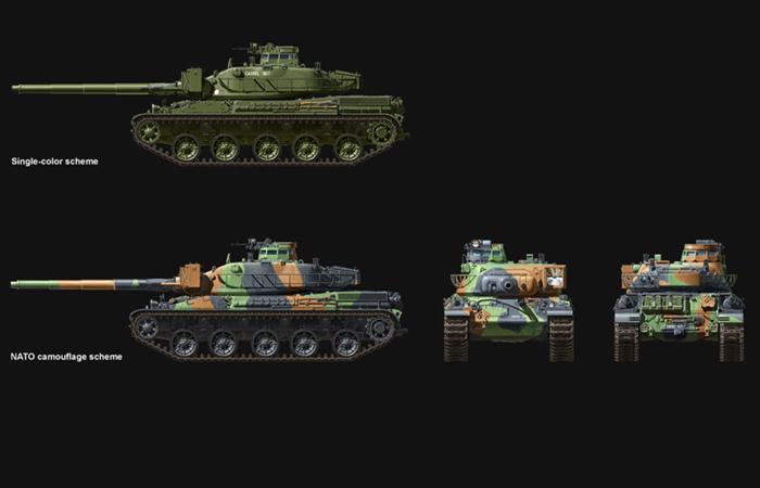 Meng-Model TS-003 1/35 Scale Plastic Model Kit FRENCH MAIN BATTLE TANK AMX-30B Scale Model, Static Tank Model