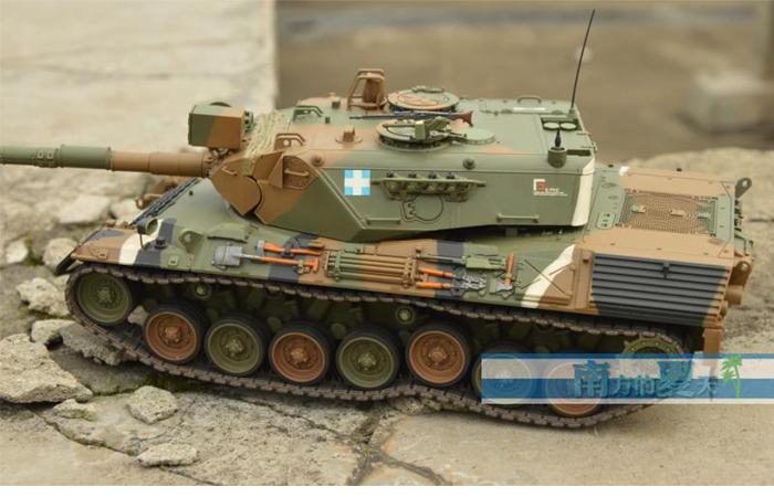 Meng-Model TS-007 1/35 Scale Plastic Model Kit Germany Main Battle Tank Leopard 1 A3 / A4 Scale Model, Static Tank Model.