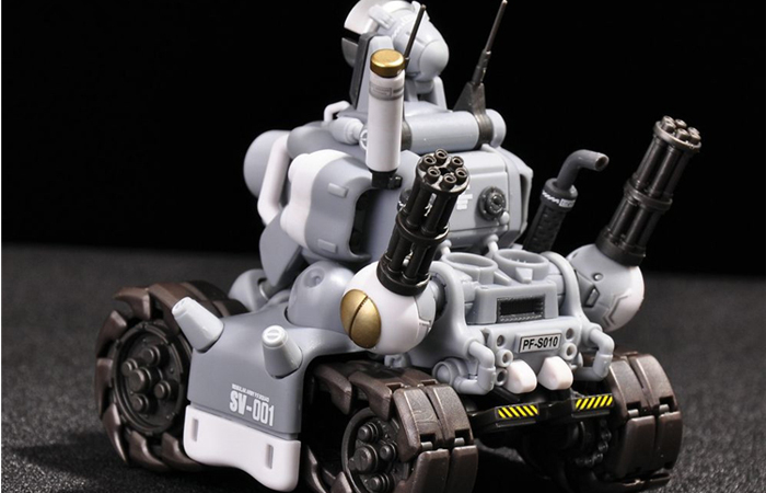 1/35 Scale Model Game Character, Metal Slug Tank Plastic Scale Model Kit