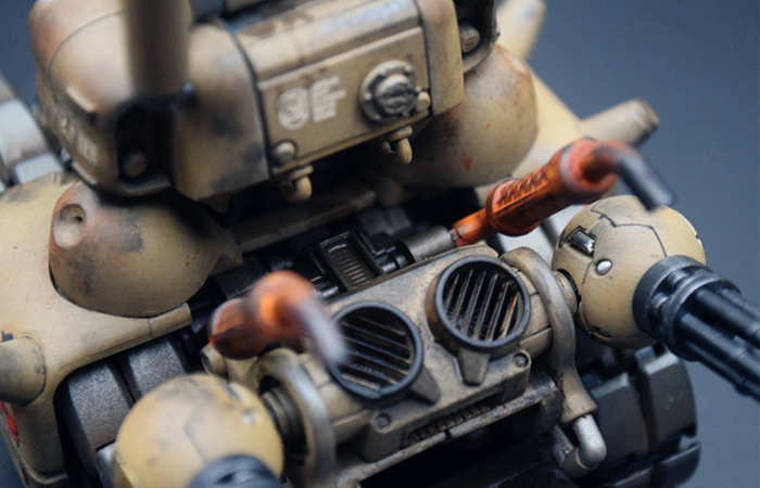 1/35 Scale Model Game Character, Metal Slug Tank Finished Plastic Scale Model Kit.