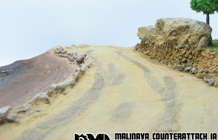 Precision Model Art PMA-P0212 WWII Malinava Counterattack Diorama, War Scenes Model Show.