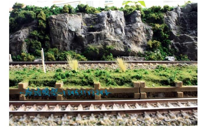 Railroader Diorama Scenery, Model Train Layout, Model railway scenes display platform.