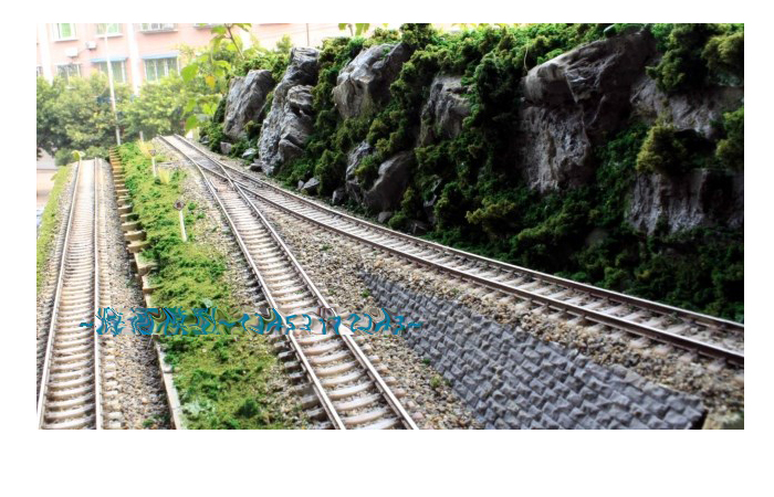 Railroader Diorama Scenery, Model Train Layout, Model railway scenes display platform.