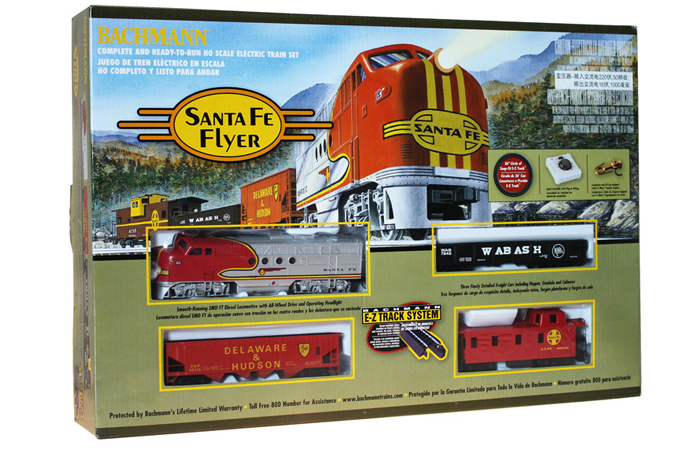 Bachmann 00647 Santa Fe Flyer Train Set For Sale, Online Model Store, Model Trains.