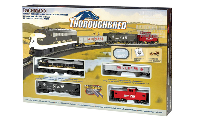 Bachmann 00691 Thoroughbred Train Set For Sale, Online Model Store, Model Train.