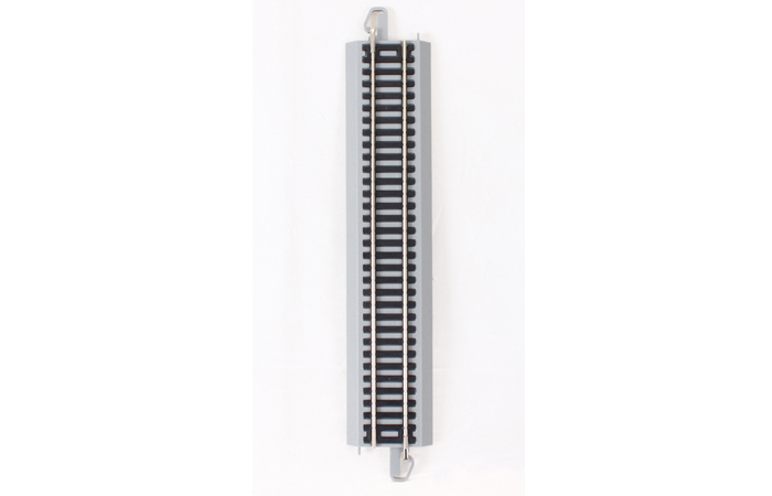 Bachmann 44511 HO Scale 9 Inch Straight Track, Nickel Silver Rail Model.
