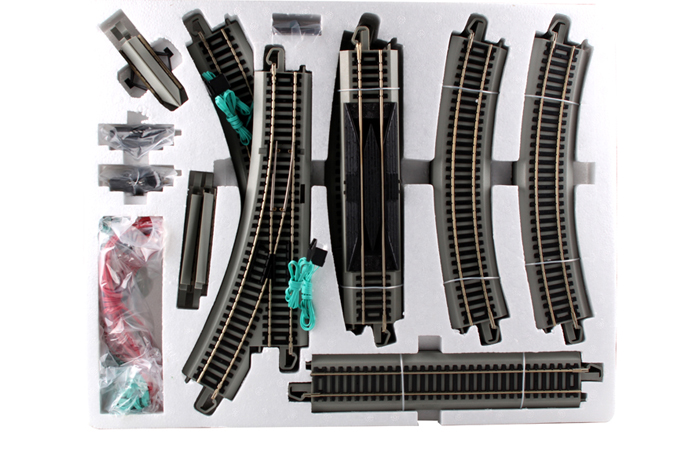 Bachmann 44596 HO Scale Nickel Silver First Railroad Track Pack, Online Model Trains Store.