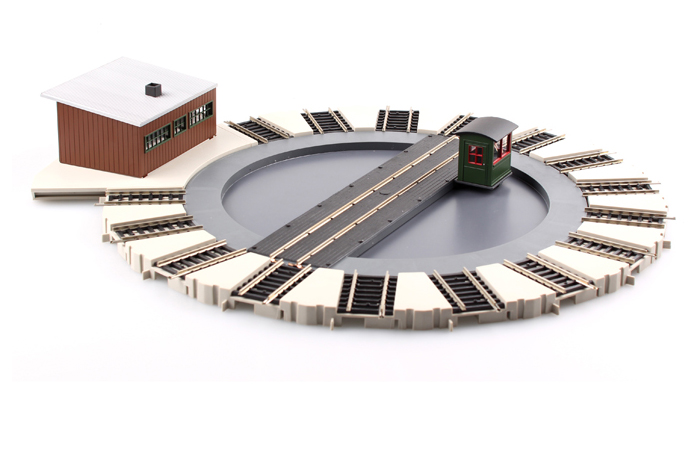 Bachmann 46299 HO Scale Railroad Model Motorized Turntable, Model Trains Store.
