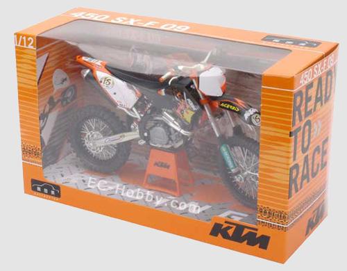 1 12 Ktm 450 Sxf 09 Motocross Diecast Motorcycle Bike Racing Model Toy Ec Hobby Com
