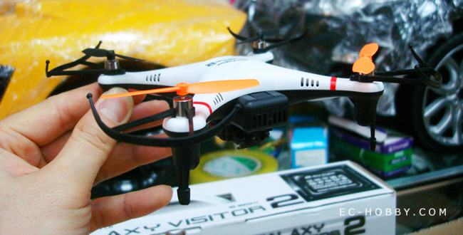 Nine Eagles 4CH 2.4Ghz Transmitter Micro RTF Quadcopter With HD Camera