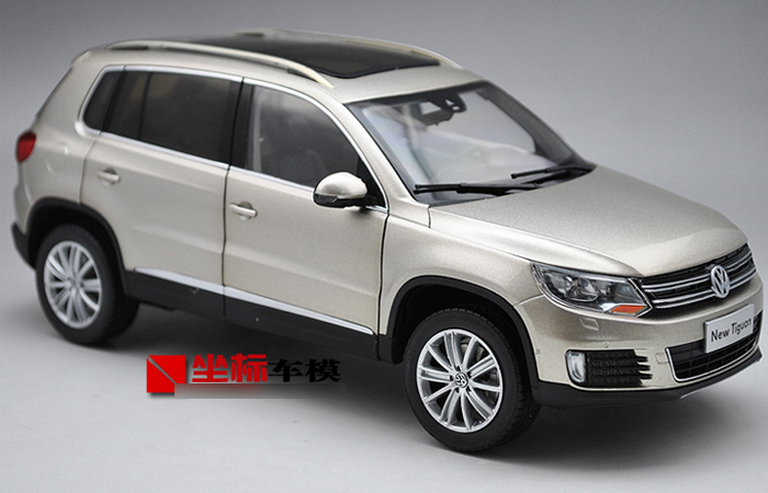 1/18 Scale Model Volkswagen NEW TIGUAN 2013 2014 Original Diecast Model Car, Gifts, toys, collectibles, Display Model, Static Model.