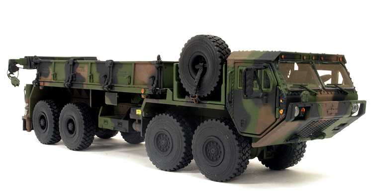 Oshkosh HEMTT M985 A2 Diecast Model, Scale Model, military models, oshkosh military trucks, oshkosh military vehicles, heavy truck, tactical trucks