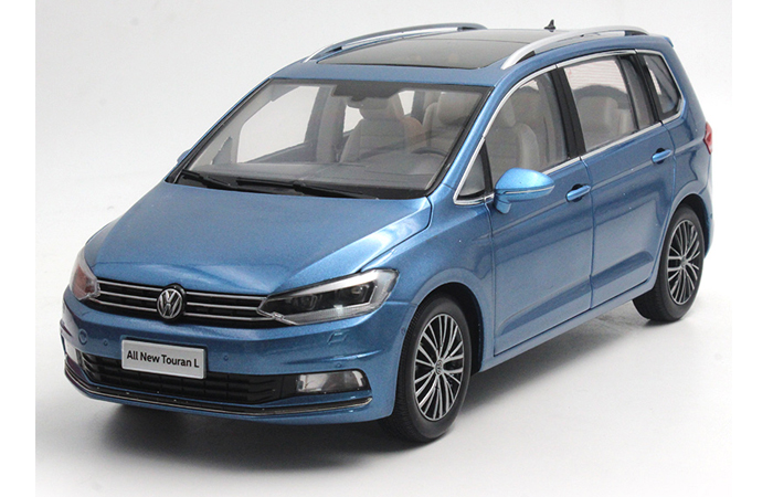 1/18 Scale Model Volkswagen NEW TOURAN L 2016 Original Diecast Model Car, metal Scale model car, Gifts, toys, collectibles, Display Model, Static Model.