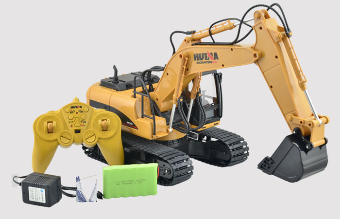 Outdoor Construction Toys : Excavator toy model construction vehicles