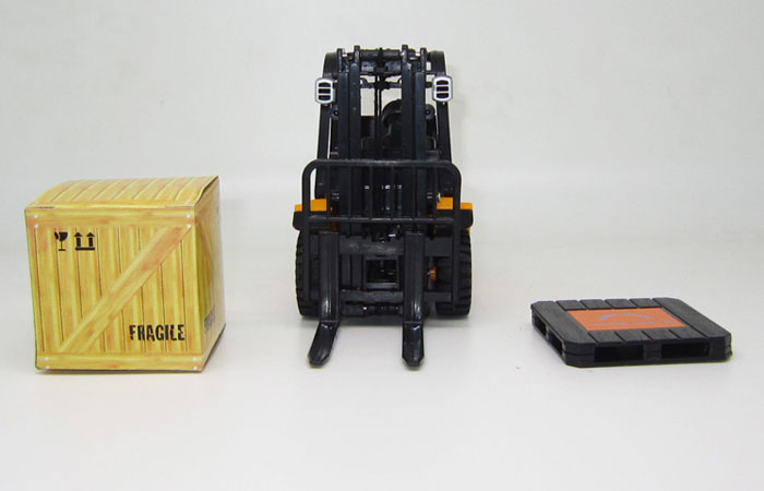 Mini RC Forklift, Construction vehicles Toy, Radio remote control Toy, Electric Forklift Toy, model