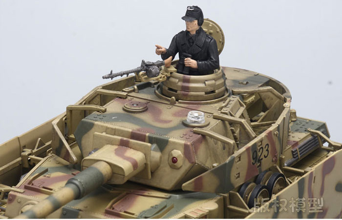 FOV Remote Control Tanks Battle Game, 1/24 Scale German Panzerkampfwagen (Pz.Kpfw.IV) RC Tank.