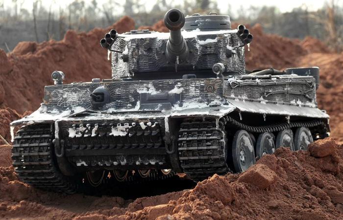 HENG-LONG Remote Control Scale Model Tank 3818 World War II Germany Tiger I Main Battle Tank.