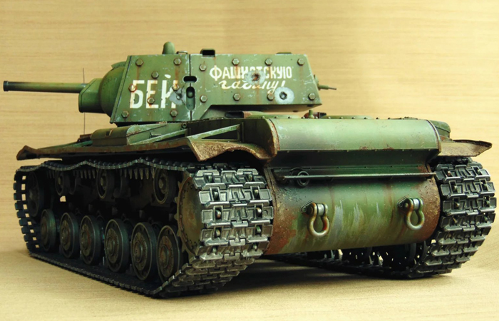 HENG-LONG Remote Control Scale Model Tank 3878 RUSSIA Soviet KV-1 RC Tank.