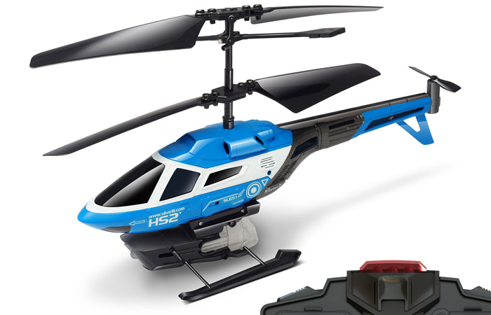 Silverlit Toys, HELI SPLASH Mini 3-Channel Indoor Water Shooting RC Helicopter.