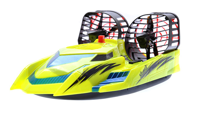 Silverlit Toys Power in speed, 82014 2.4G HOVER RACER RC Hovercraft, Toy Boat.