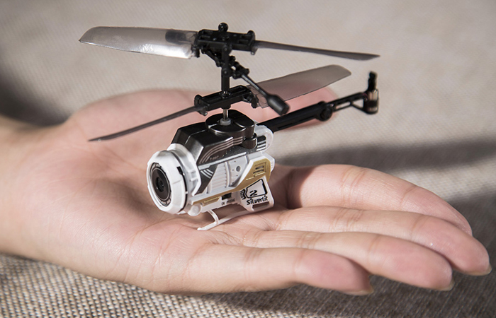 Silverlit Toys, NANO Mini Spy RC Helicopter, Camera remote control helicopter.