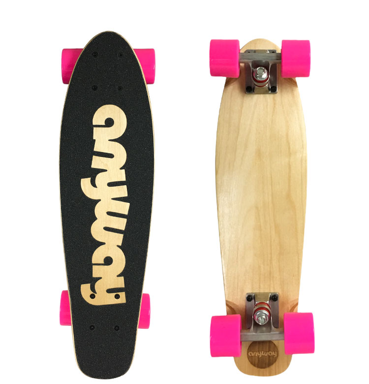 Cruiser Skateboard, Fish Skateboard, Suitable For Adults And Children, Girl Skateboards.