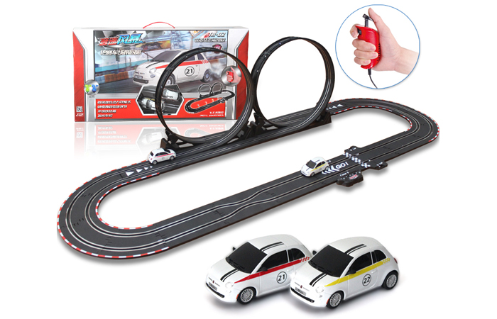 Top-Racer AGM TR02 Slot Car Sets , Remote control car, RC Racing Car, Kids Toys.