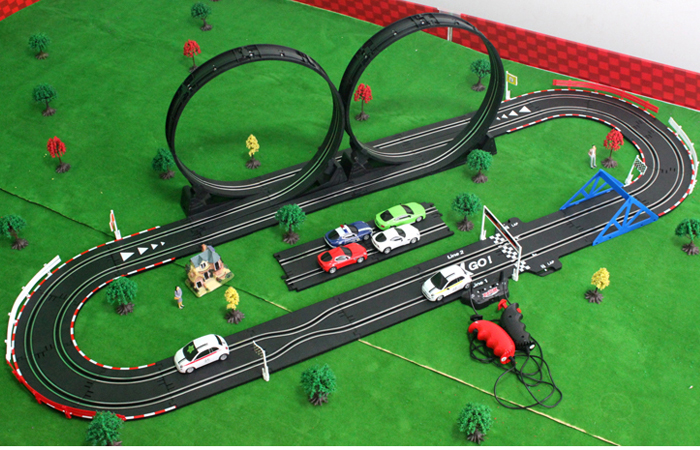 top racer agm tr02 slot car sets remote control car rc racing car