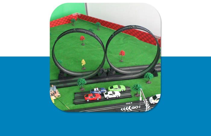 Top-Racer AGM TR02 Slot Car Sets , Remote control car, RC Racing Car, Kids Toys.