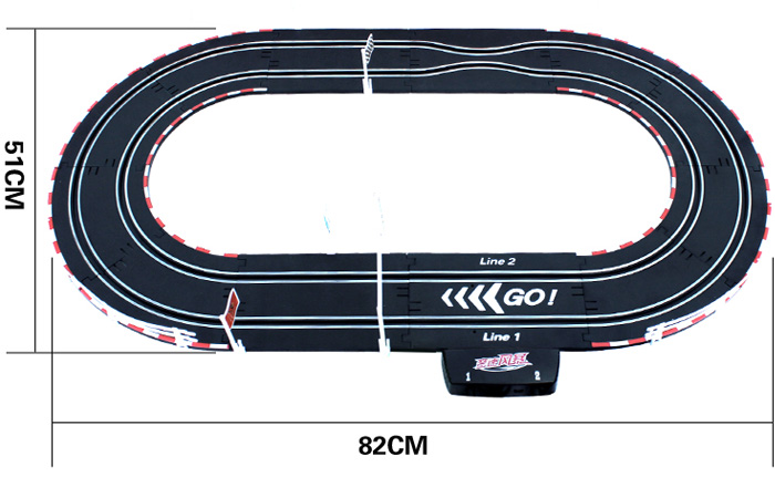 Top-Racer AGM TR03 Slot Car Sets , Slot Track, RC Racing Car, Kids Toys