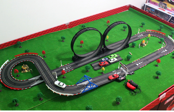 top racer agm tr05 slot car sets slot track rc racing car