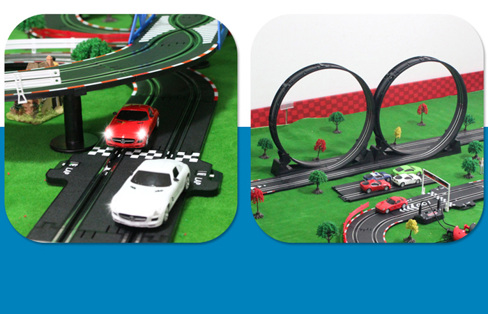 Top-Racer AGM TR05 Slot Car Sets , Slot Track, RC Racing Car, Kids Toys.