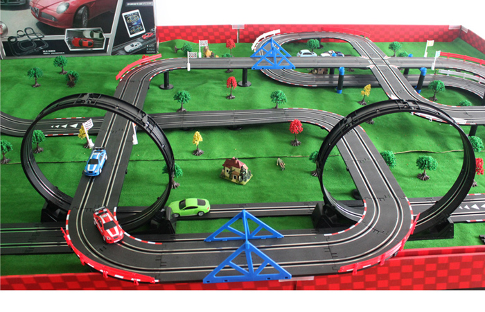 Top-Racer AGM TR06 Slot Car Sets , Slot Track, Racing Game ...