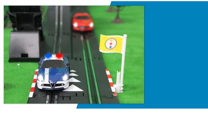 Top-Racer AGM TR12 Slot Car Sets , Mercedes-Benz SLS AMG, Alfa Romeo 8C Slot Car.