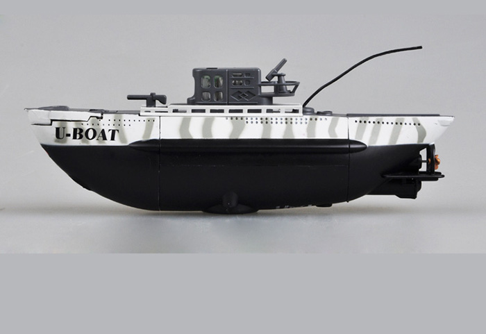 Trumpeter model, German U-Boat micro RC submarine, electric RC boats, mini Radio Controlled ship.
