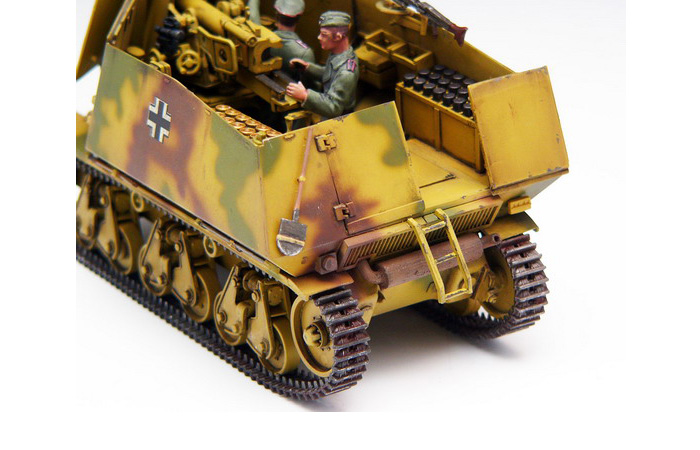TRUMPETER Plastic Model kits 00354, 1/35 Scale WWII German Panzerjager 39(H) mit 7.5cm Pak40/1 Marder Ⅰ Model Kit Tank Destroyer Scale Model