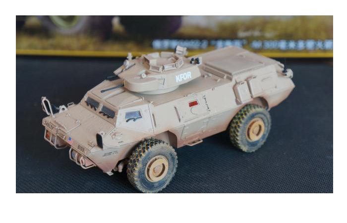 TRUMPETER Plastic Model Kit 01541, USA M1117 Guardian Armored Security Vehicle (ASV) Scale Model, Armored Car model