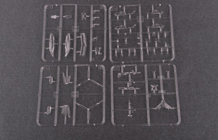 TRUMPETER Plastic Model kits 05611, 1/350 Scale USS Wasp LHD-1 Amphibious Assault Ship Model Kit Scale Model