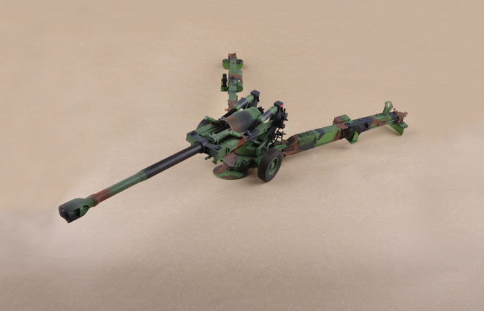 Merit International, 1/16 Scale US M198 155mm Towed Howitzer Finished model, Trumpeter OEM 68604  Model Kit Static Model