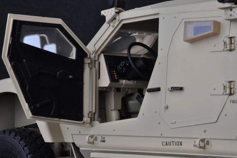 Finished model, 1/16 US M-ATV MRAP Static Model, Trumpeter model, Trumpeter 68605 Plastic model kits