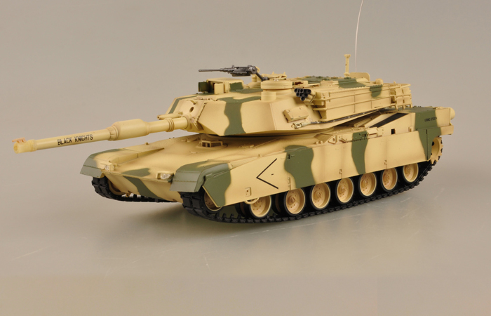 Radio remote control 1/35 Scale Model Tank, US military vehicle model, IR BATTLE Games tanks,  Trumpeter 00805A, M1A1 RC Tank toy