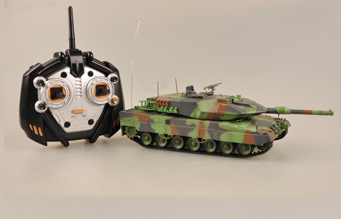 Radio remote control 1/35 Scale Model Tank, Germany military vehicle model, IR BATTLE Games tanks,  Trumpeter 00805B, LEOPARD RC Tank toy