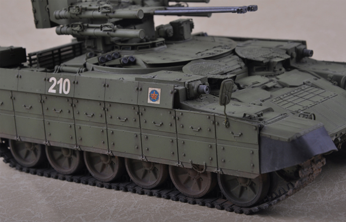 TRUMPETER 09506, 1/35 Scale Model Kazakhstan Army BMPT Ramka Plastic Model Kit.