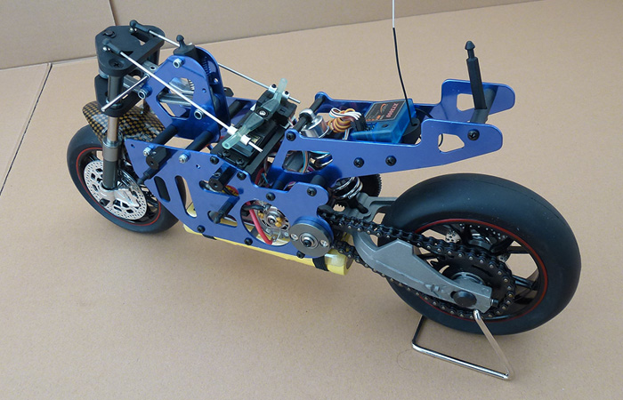 VH-EP5 1/5 Scale Remote control motorcycle, Electric Power On-Road RC Racing motorcycle.