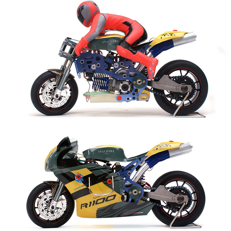 VH-GP5 1/5 Scale RC Nitro Motorcycle.