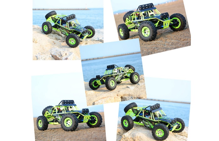 WLTOYS GREAT POWER STAR 12428 2.4GHz RTR 4WD Electric RC Racing Desert Truck Car