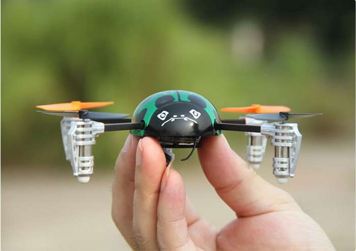 Walkera RC Model, RC Helicopter, QR Ladybird V2 Mini RC Quadcopter RTF with Devo 4, electric toy.
