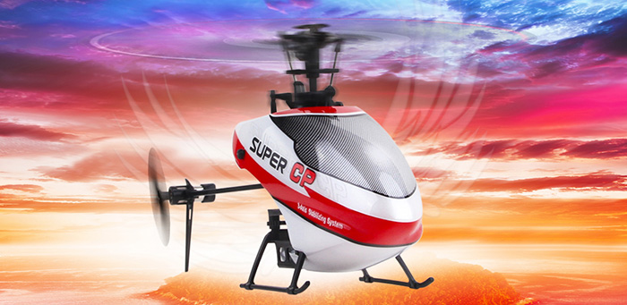 Walkera RC Model, RC Helicopter, super cp mini RC Helicopter, for Beginners indoor outdoor 6 Channel Flybarless 3D Stunt Helicopter