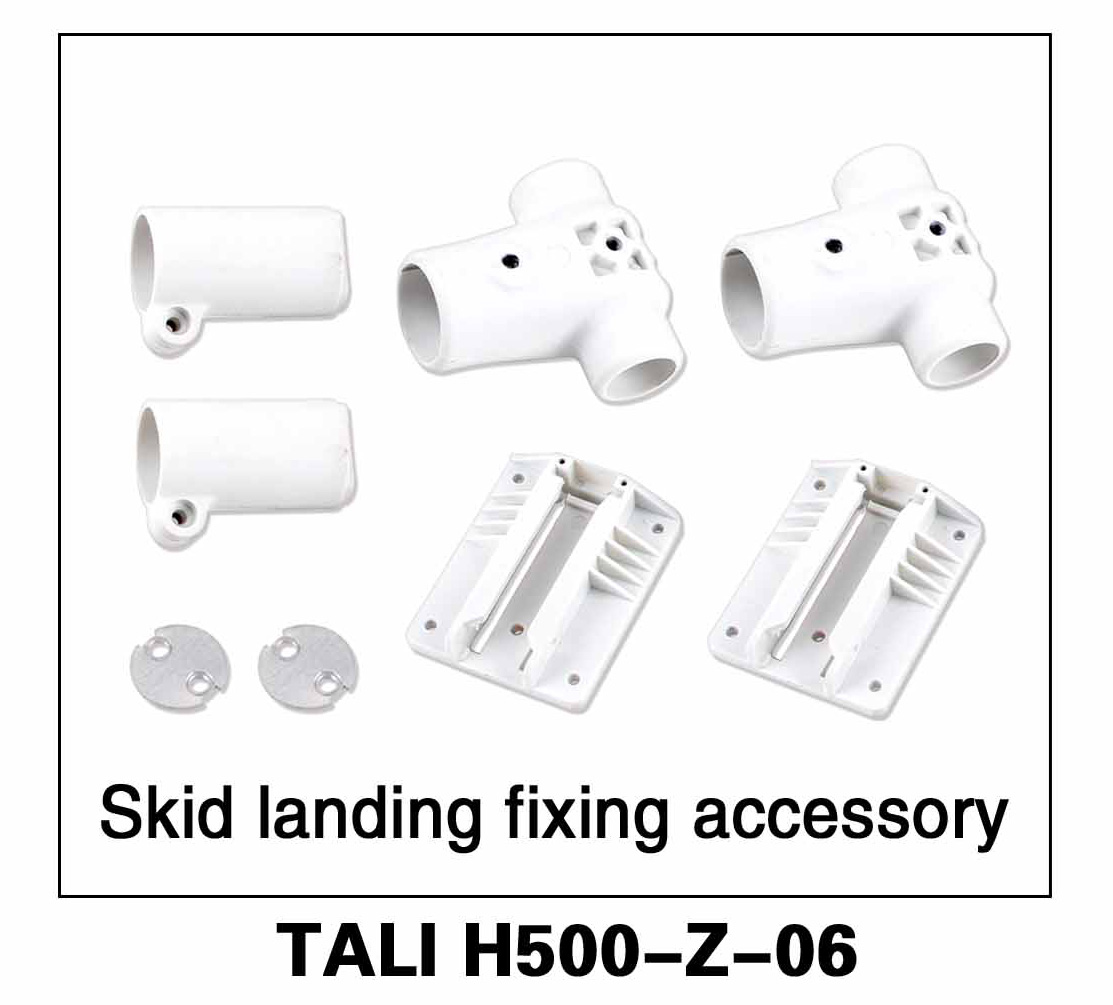 Walkera parts, RC Helicopter, RC hexacopter, GPS FPV Drone, Tali H500 Accessories H500-Z-06 Skid Landing Fixing Accessory